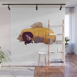 Aizawa Shoto Sleepy Wall Mural