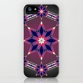 Morning Star Circle (Purple) iPhone Case