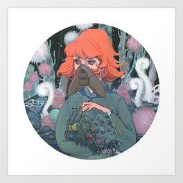 Spore Art Print