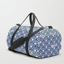 Catch the Seigaiha (Wave) 1 Duffle Bag
