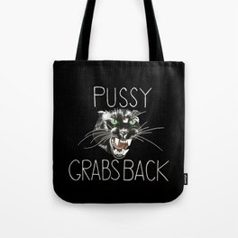 Pussy Grabs Back Tote Bag