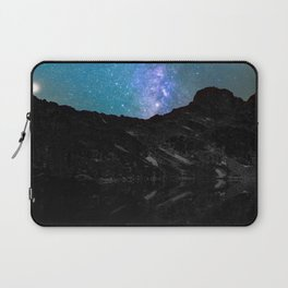Milky Way Mountain Laptop Sleeve