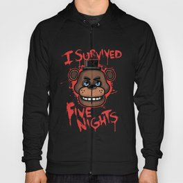I Survived Five Nights At Freddy's Hoody