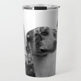 Dog on Wheels Travel Mug