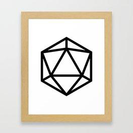 D20- Darkest Dungeon Framed Art Print