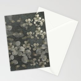 """Nacre pearls on silver river"" Stationery Cards"