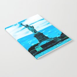Statue of Liberty Blue Notebook