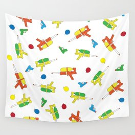 Waterguns Pattern Wall Tapestry