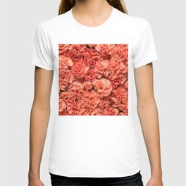 Coral Carnations T-shirt