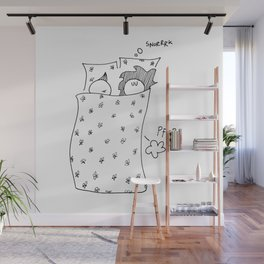 Lovely couple Wall Mural