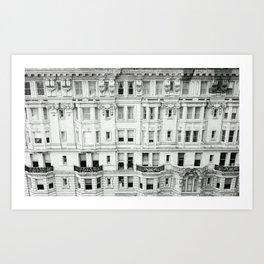 BROAD STREET. Art Print
