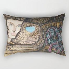 L'amour couleur azur Rectangular Pillow