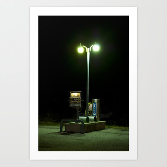 Car Wash Vacuum, Shrewsbury, WV  Art Print