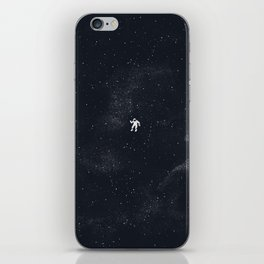 Gravity - Dark Blue iPhone Skin