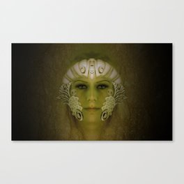 Goddess in Marble Canvas Print