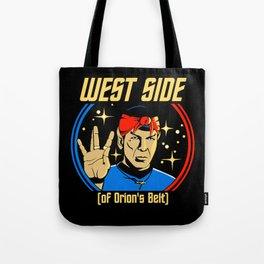 West Side - Spock Tote Bag