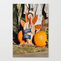turkey Canvas Prints featuring Turkey Timer by IowaShots
