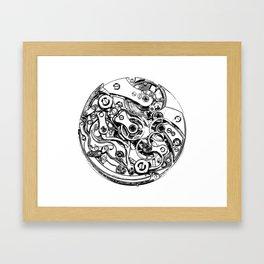 Watch Innards Framed Art Print