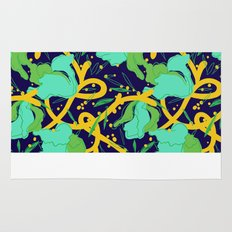 Green Explosion Spring 2015 Surface Design Rug