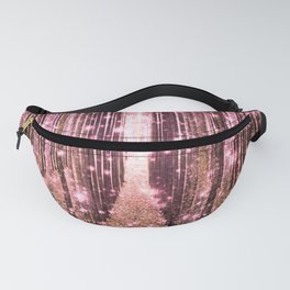 Magical Forest Peachy Pink Fanny Pack