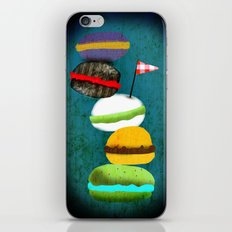 Macarons in my dreams iPhone & iPod Skin