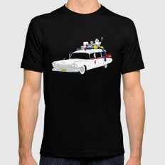 Ecto-1 Mens Fitted Tee X-LARGE Black