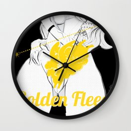 ARIES/GOLDEN FLEECE Wall Clock