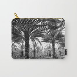 Vintage Palms Trees : Coachela Valley California 1937 Carry-All Pouch