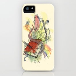 Sketchbook Life iPhone Case