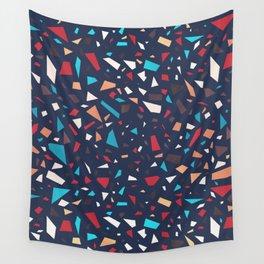 Terrazzo (Dark) Wall Tapestry