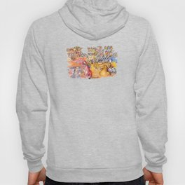 do you remember when we used to dine alone? Hoody