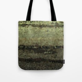 Wood and stone layers abstract pattern Tote Bag