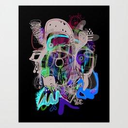 """""""Soy Wee"""" Art Print"""