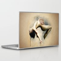 mom Laptop & iPad Skins featuring Mom by Subcon