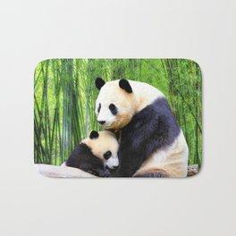 Panda-love Bath Mat