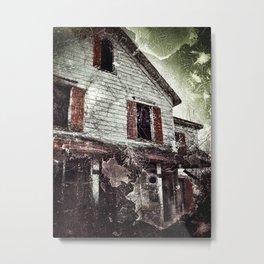 Nathaniel White Farmhouse Metal Print
