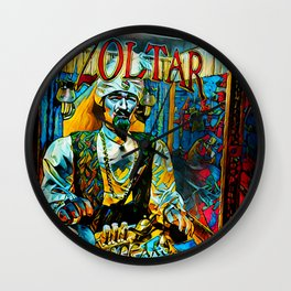 Zoltar Speaks Design By Jameson Bondd Wall Clock