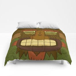 Cool Monster face Comforters