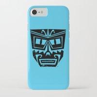 tiki iPhone & iPod Cases featuring Tiki by Nick Salmon