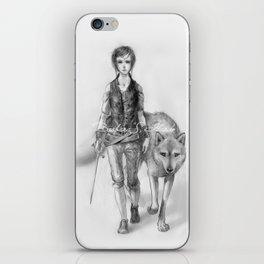 Wolfgirl iPhone Skin