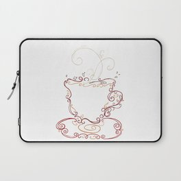 Latte Swirl Laptop Sleeve