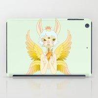 goddess iPad Cases featuring Goddess by neulinu