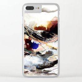 Day 59: Living with disturbances rather than against them. Clear iPhone Case