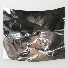 black plastic 04 Wall Tapestry