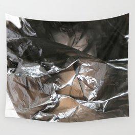 black plastic 04 Wall Tapestry