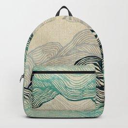 Crash Into Me Waves Backpack