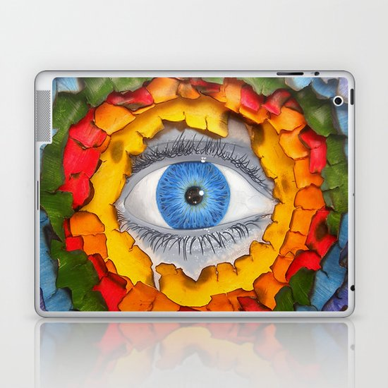 Rainbow Burn Laptop & iPad Skin