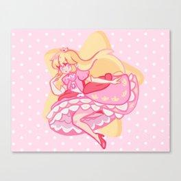 Princess Peach Canvas Print