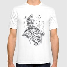 Sono crepe e spine che avanzano tra le vertebre. Mens Fitted Tee White MEDIUM