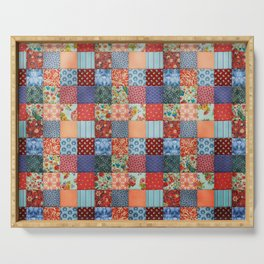 Lovely Patchwork Serving Tray